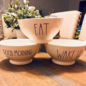 Rae Dunn Cereal or Dessert Bowls